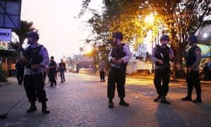 Mako Brimob riot aftermath