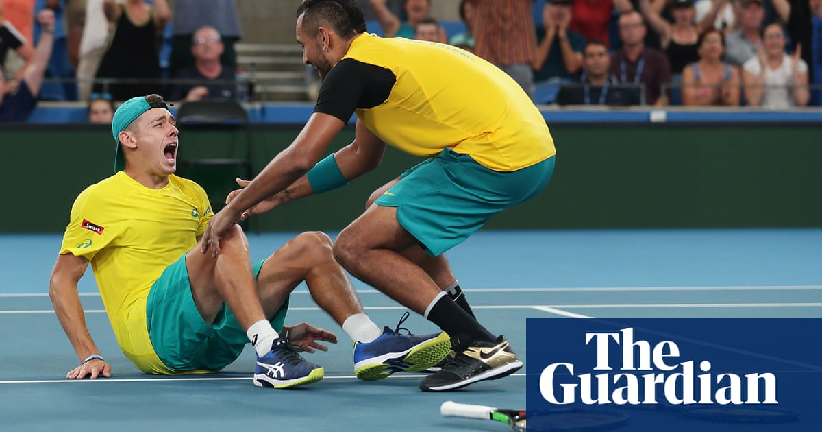 Definitely having a red wine tonight says Nick Kyrgios after ATP thriller – video