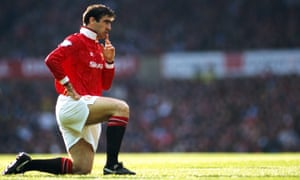 Eric Cantona's professionalism and ability lifted Manchester United to another level.