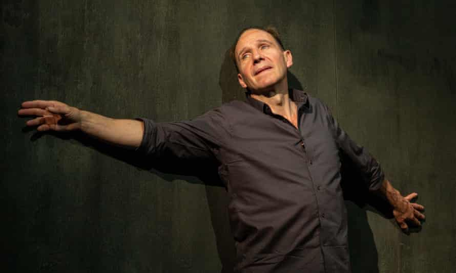'Expressions of anxiety': Ralph Fiennes in the stage adaptation of Four Quartets.