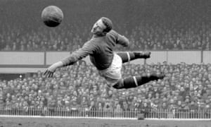 Harry Gregg, pictured in 1958, shortly after the Munich air disaster.