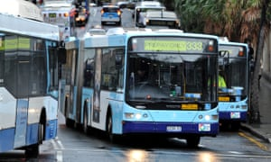 Sydney buses at Circular Quay