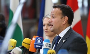 Leo Varadkar: 'Some of my colleagues have lost patience, quite frankly, with the UK.'