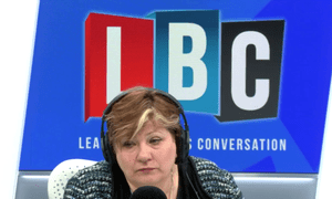 Emily Thornberry MP sitting in for James O'Brien last week.