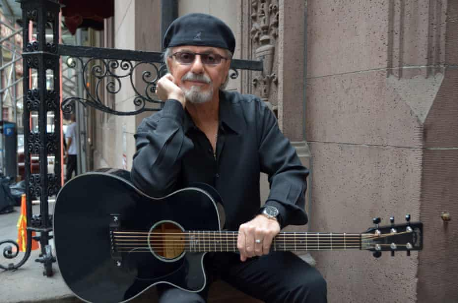 'I'm in!' … Dion DiMucci in New York for new album Blues With Friends.