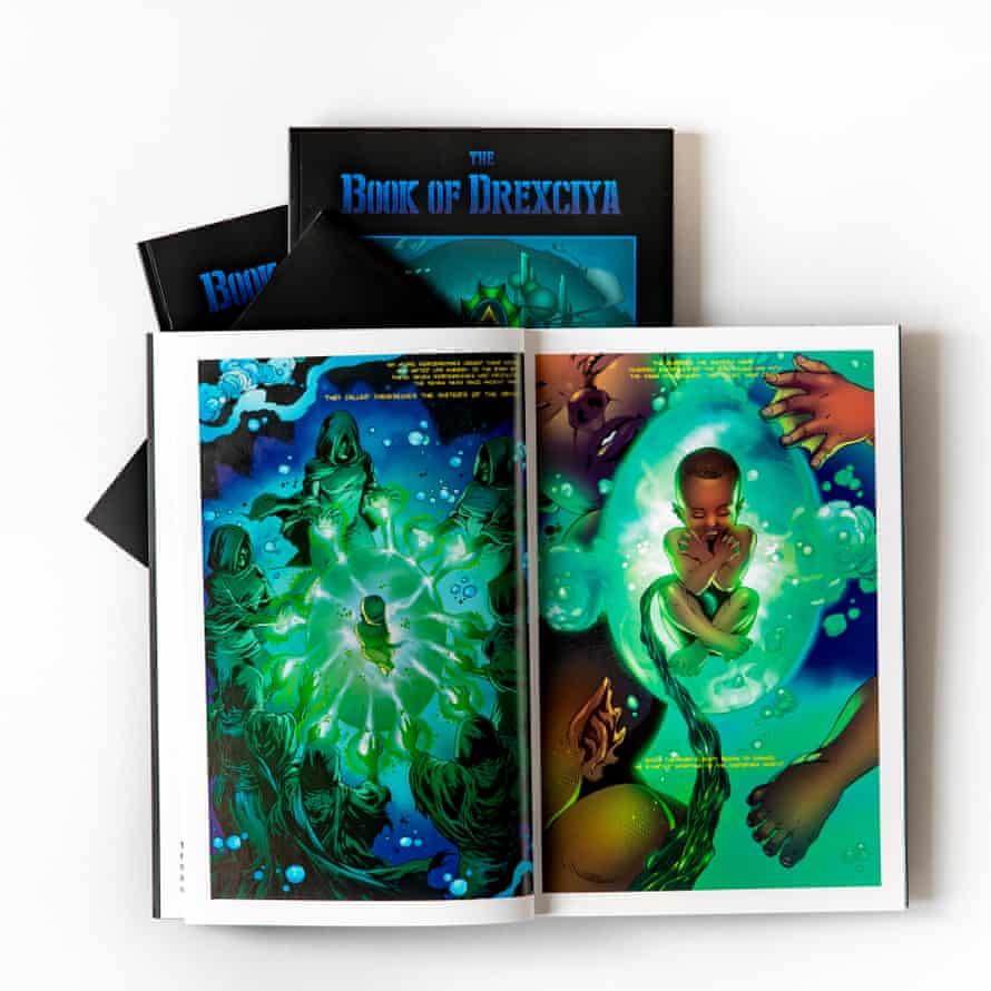 The Book Of Drexciya, a graphic novel by Abdul Qadim Haqq and Dai Sato