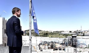 Mike Baird in the West Bank on 5 April 2016. Baird is the NSW Premier in Australia.