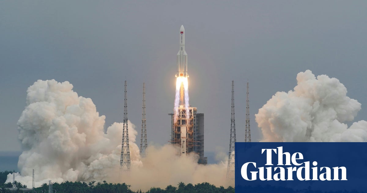 Chinese rocket debris crashes back to Earth, plunging into Indian Ocean – state media