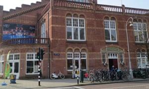 Exterior of Brasserie Zuiderbad, Amsterdam