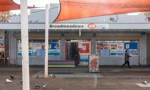 A supermarket in Broadmeadow