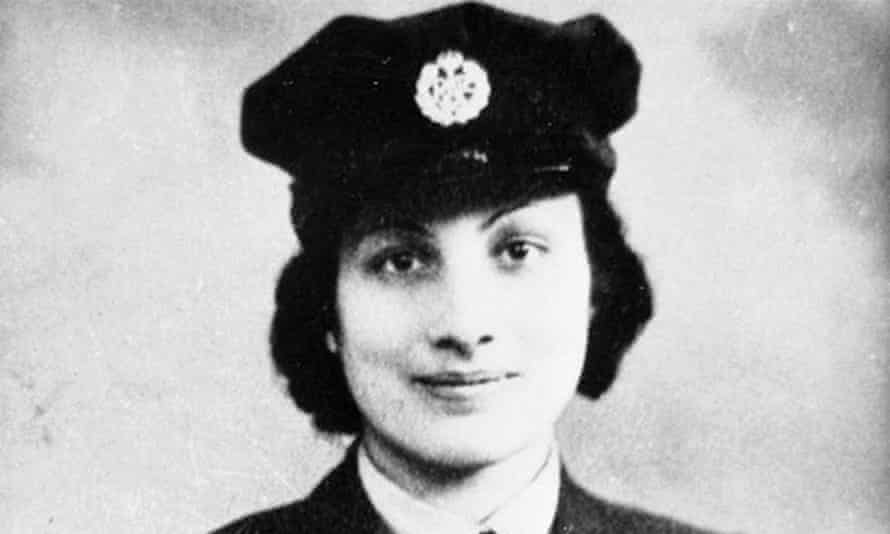 Noor Inayat-Khan, who became the first female radio operator to be sent to Nazi-occupied France.