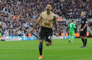 Aleksandar Mitrovic saves Newcastle's blushes.