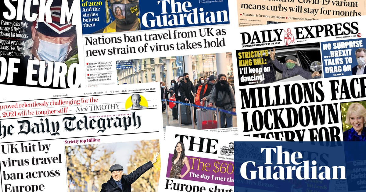 Europe shuts door on Britain: what the papers say about the travel bans