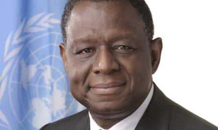 From 2008 to 2010 Babatunde Osotimehin was minister of health in President Goodluck Jonathan's cabinet. He ensured that 15% of Nigeria's budget was allocated to healthcare.