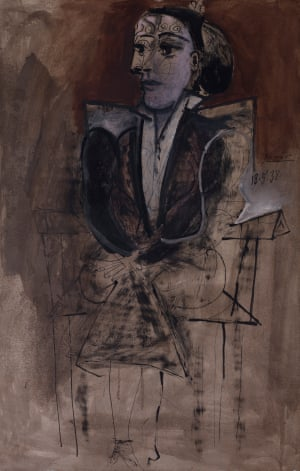 Picasso Dora Maar Seated (1938)