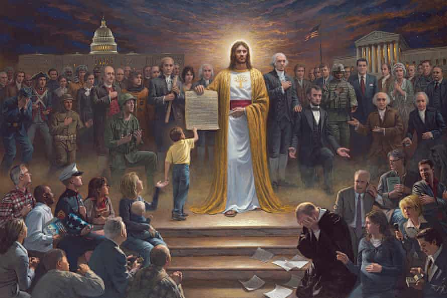 One Nation Under God, by Jon McNaughton.