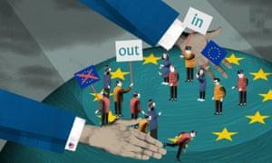 Illustration for Barack Obama and EU referendum