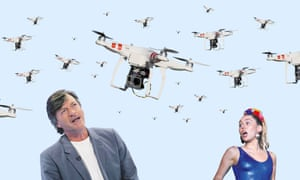 Richard Madeley and Miley Cyrus and drones
