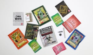 Selection of legal high packets