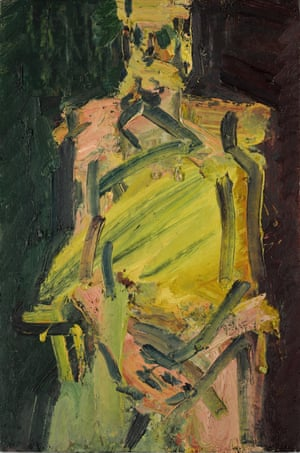 Jake Seated, 2000, Frank Auerbach