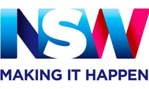 The new logo of New South Wales state in Australia. Unveiled in September 2015.
