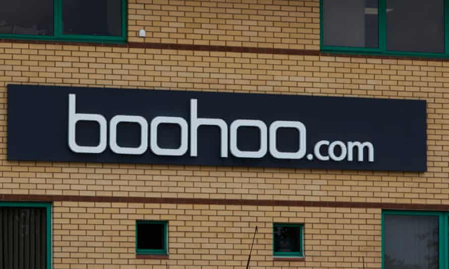 Boohoo's offices in Leicester