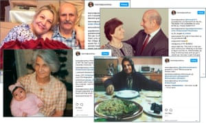 The banned grandmas of Instagram account is curated by Holly Dagres, an Iranian-American analyst and commentator on Middle East affairs.