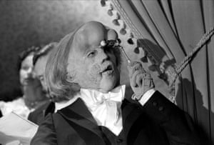 Portraying John Merrick in the Elephant Man, 1980