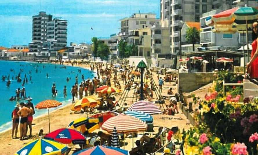 Postcard from Varosha Famagusta Beach, Cyprus
