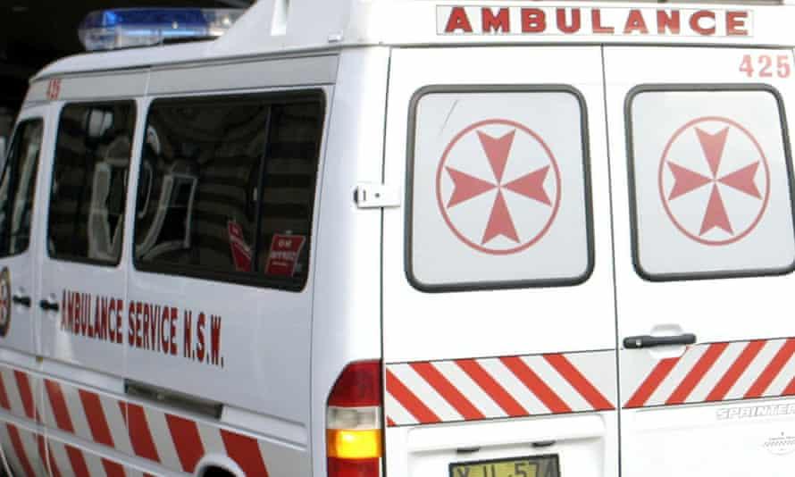 An ambulance in Sydney
