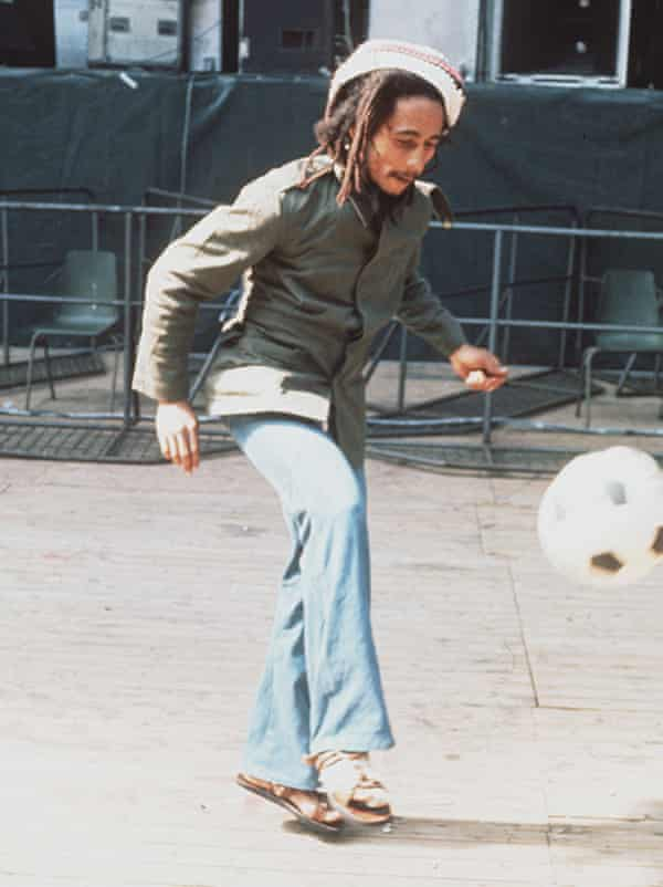 Bob Marley, who died from skin cancer the developed under his toenail.
