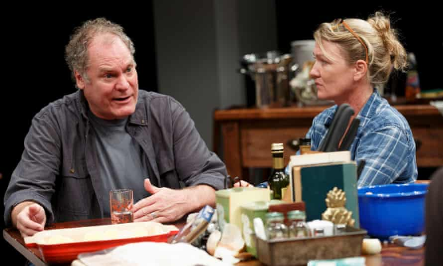 Jay O Sanders and Lynn Hawley in What Did You Expect? – play two of The Gabriels: Election Year in the Life of One Family.