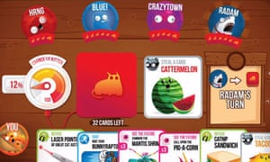 Exploding Kittens crowdfunded card game gets its claws into
