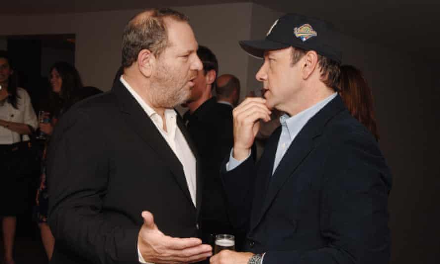 Harvey Weinstein and Kevin Spacey