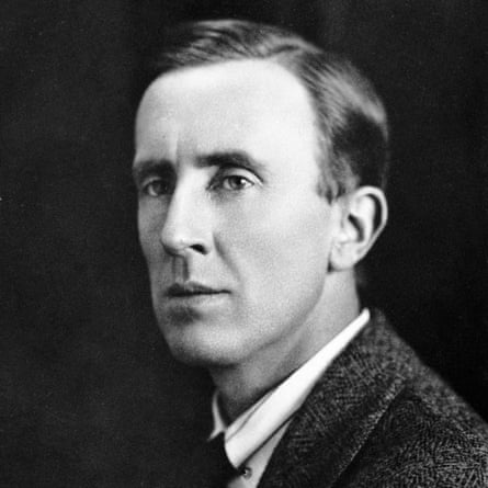 JRR Tolkien photographed in the 1940s.