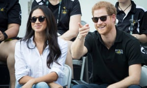 Prince Harry and Meghan Markle at the 2017 Invictus Games in Toronto, Canada.