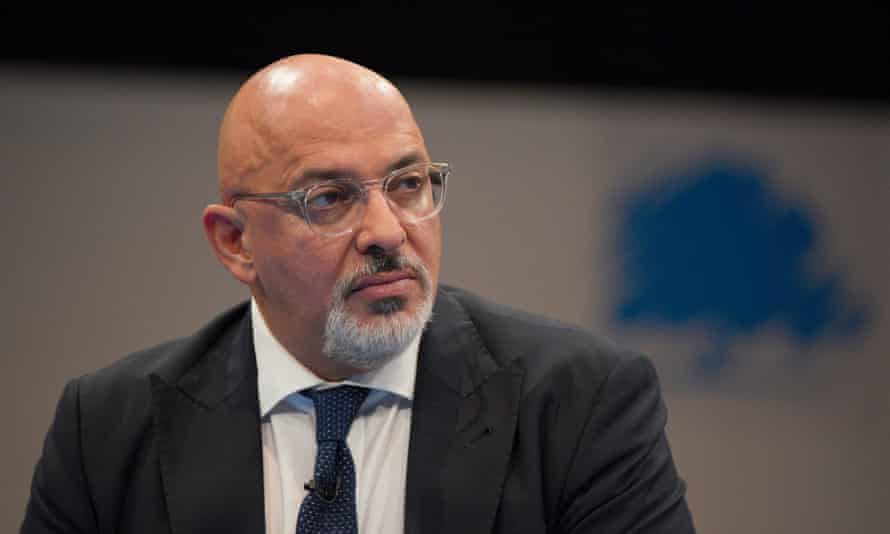 Nadhim Zahawi at the Conservative party conference in Manchester this week.