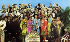 The album cover of Sgt Pepper's Lonely Hearts Club Band