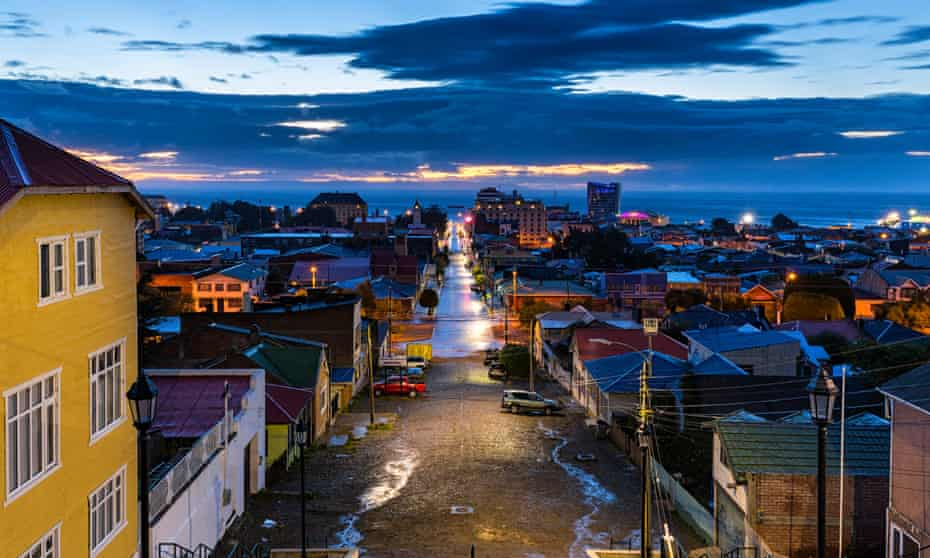 One of Chile's fastest-growing cities … Punta Arenas.