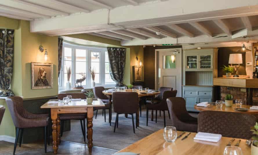 the haughmond pub dining room