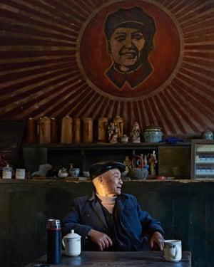 Customer, teahouse, China