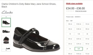667c230db00d6c Clarks withdraws girls  school shoe after accusations of sexism ...