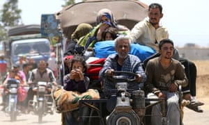 Refugees from Daraa
