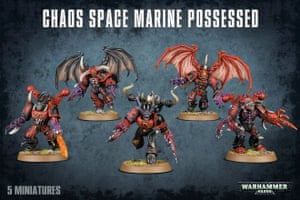Warhammer characters and figures