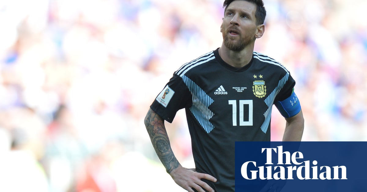 f6eb58d99 Lionel Messi the sun king makes Argentina blind to new tricks ...