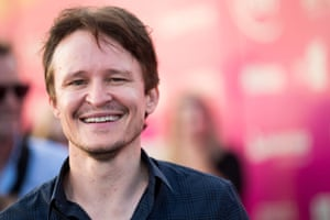 Australian actor Damon Herriman at Sydney's Tropfest in 2016