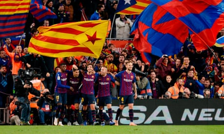 How often do Barcelona lose at home?