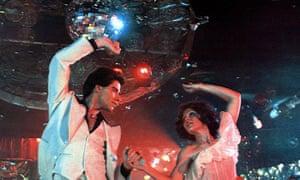 A still from 1977's Saturday Night Fever.