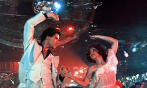 The world is a disco ball: a scene from Saturday Night Fever