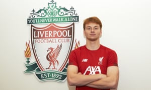 Sepp van den Berg will officially complete his move to Liverpool on 1 July.